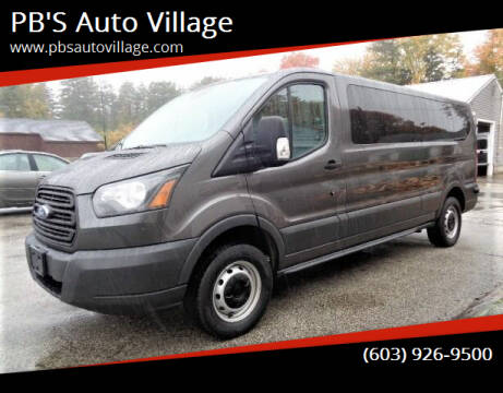 2017 Ford Transit Passenger for sale at PB'S Auto Village in Hampton Falls NH