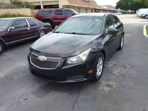 2014 Chevrolet Cruze for sale at LAND & SEA BROKERS INC in Pompano Beach FL