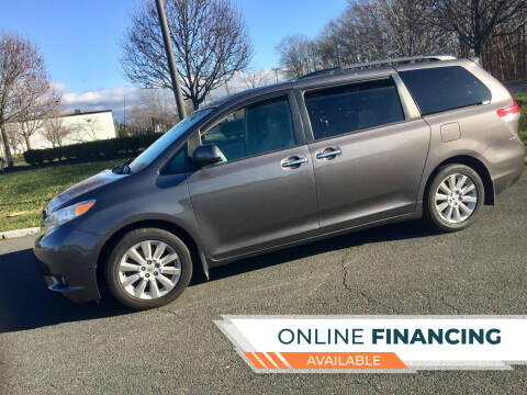 2013 Toyota Sienna for sale at New Jersey Auto Wholesale Outlet in Union Beach NJ