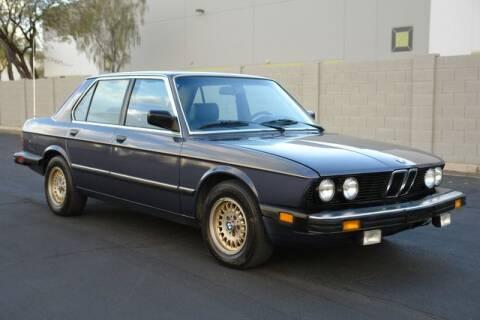 1986 BMW 5 Series for sale at Arizona Classic Car Sales in Phoenix AZ
