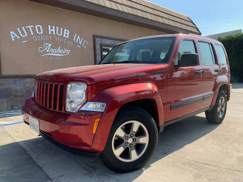 2008 Jeep Liberty for sale at Auto Hub, Inc. in Anaheim CA