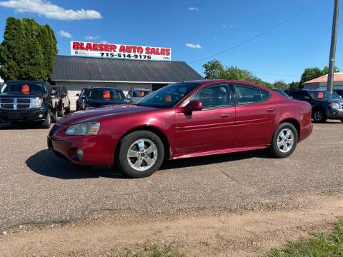 2005 Pontiac Grand Prix for sale at BLAESER AUTO LLC in Chippewa Falls WI
