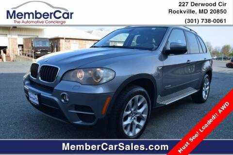 2011 BMW X5 for sale at MemberCar in Rockville MD