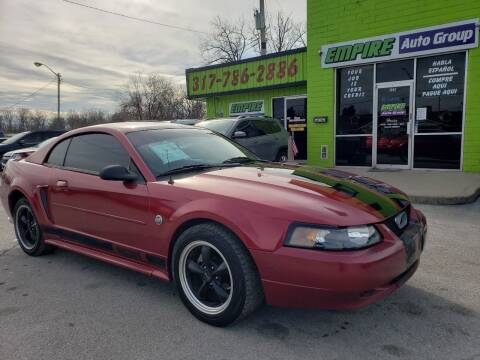 2004 Ford Mustang for sale at Empire Auto Group in Indianapolis IN