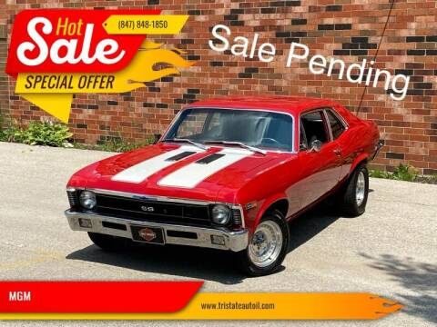 1970 Chevrolet Nova for sale at MGM CLASSIC CARS in Addison, IL