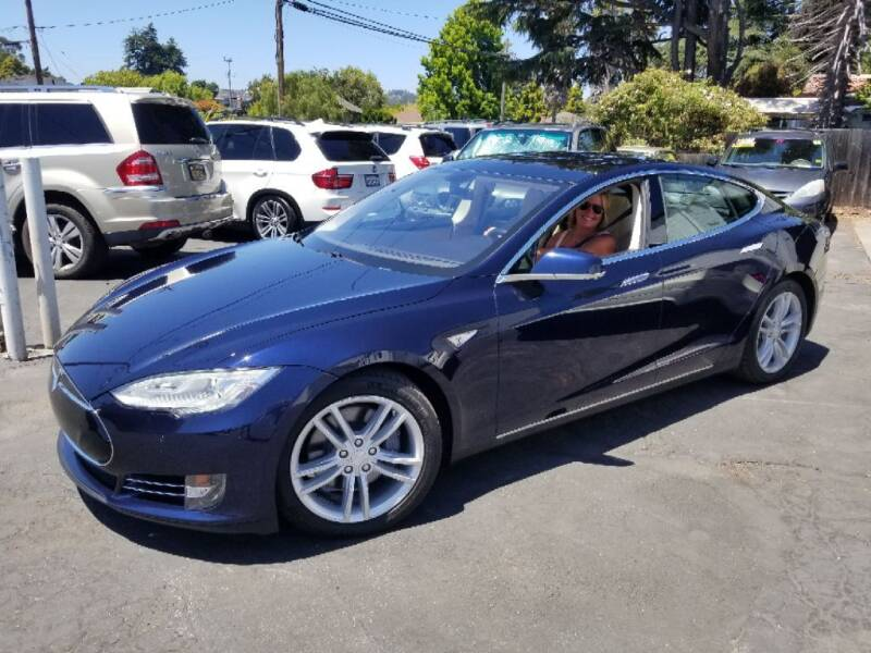 2014 Tesla Model S for sale at CENTURY MOTORS in Fresno CA