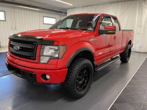 2014 Ford F-150 for sale at Monster Motors in Michigan Center MI
