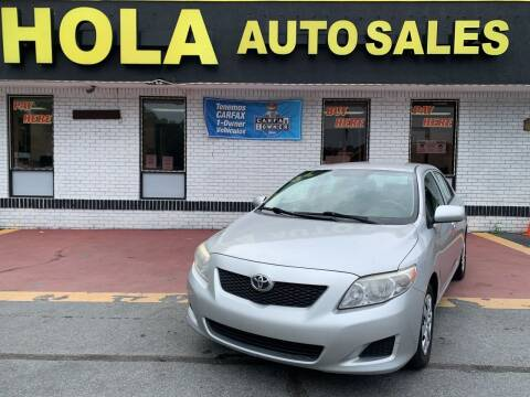 2010 Toyota Corolla for sale at HOLA AUTO SALES CHAMBLEE- BUY HERE PAY HERE - in Atlanta GA
