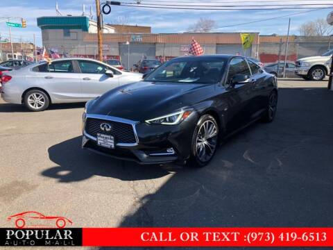 2017 Infiniti Q60 for sale at Popular Auto Mall Inc in Newark NJ