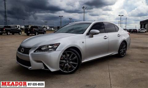 2015 Lexus GS 350 for sale at Meador Dodge Chrysler Jeep RAM in Fort Worth TX