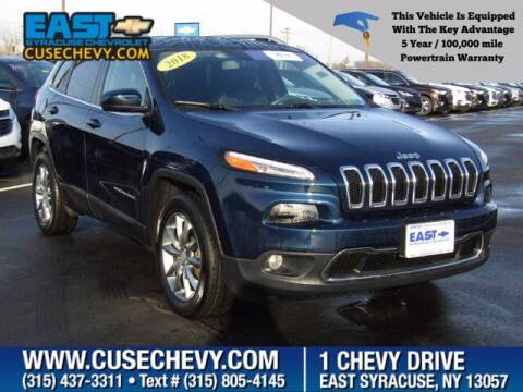 2018 Jeep Cherokee for sale at East Syracuse Performance Sales & Service in Syracuse NY