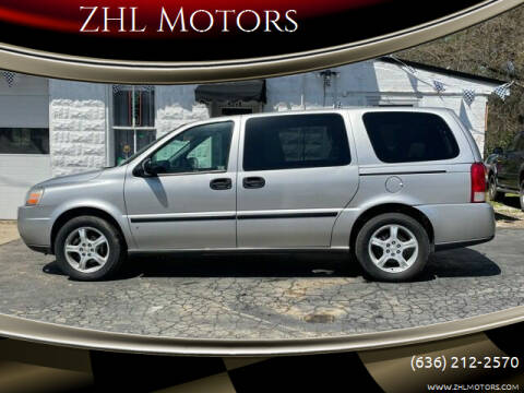 2007 Chevrolet Uplander for sale at ZHL Motors in House Springs MO