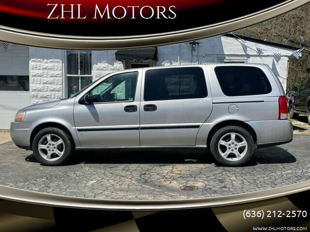 2007 Chevrolet Uplander for sale at ZHL Motors in House Springs MO