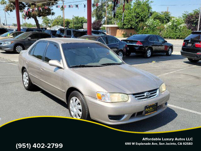 2002 Toyota Corolla for sale at Affordable Luxury Autos LLC in San Jacinto CA