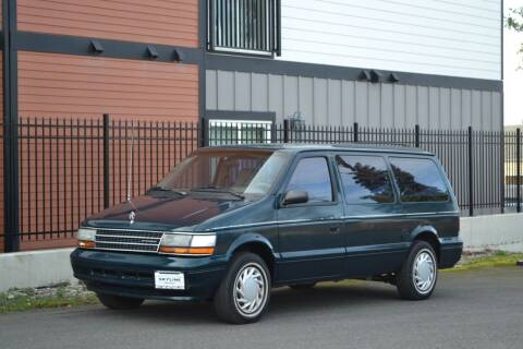 1994 Plymouth Grand Voyager for sale at Skyline Motors Auto Sales in Tacoma WA