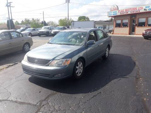 2001 Toyota Avalon for sale at Flag Motors in Columbus OH