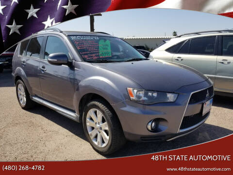 2010 Mitsubishi Outlander for sale at 48TH STATE AUTOMOTIVE in Mesa AZ