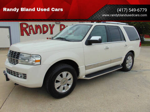 2007 Lincoln Navigator for sale at Randy Bland Used Cars in Nevada MO