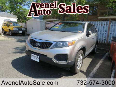 2012 Kia Sorento for sale at Avenel Auto Sales in Avenel NJ
