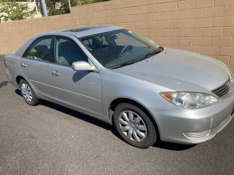2005 Toyota Camry for sale at Blue Line Auto Group in Portland OR