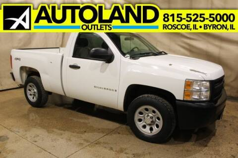 2007 Chevrolet Silverado 1500 for sale at AutoLand Outlets Inc in Roscoe IL