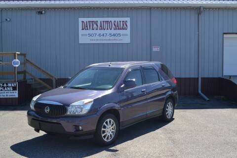 2007 Buick Rendezvous for sale at Dave's Auto Sales in Winthrop MN