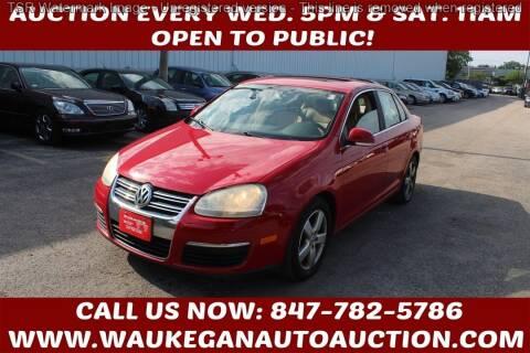 2008 Volkswagen Jetta for sale at Waukegan Auto Auction in Waukegan IL