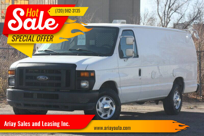 2010 Ford E-Series Cargo for sale at Ariay Sales and Leasing Inc. in Denver CO