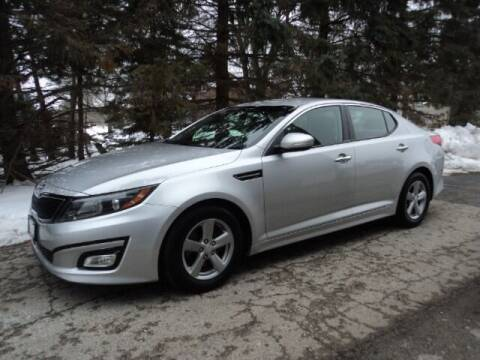 2015 Kia Optima for sale at HUSHER CAR CO in Caledonia WI