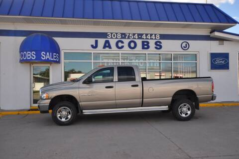 2005 Dodge Ram Pickup 3500 for sale at Jacobs Ford in Saint Paul NE
