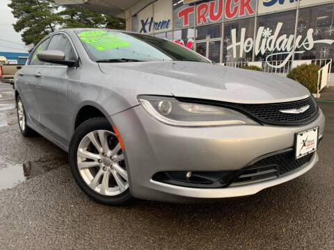 2015 Chrysler 200 for sale at Xtreme Truck Sales in Woodburn OR