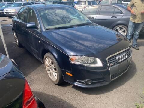 2008 Audi A4 for sale at Park Avenue Auto Lot Inc in Linden NJ