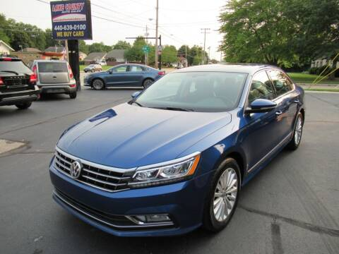 2016 Volkswagen Passat for sale at Lake County Auto Sales in Painesville OH