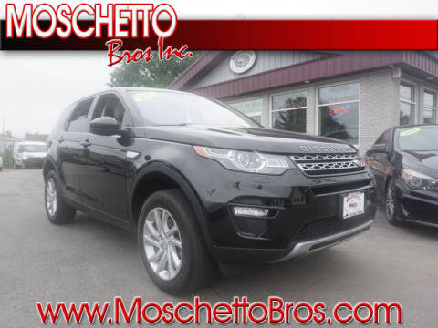 2017 Land Rover Discovery Sport for sale at Moschetto Bros. Inc in Methuen MA
