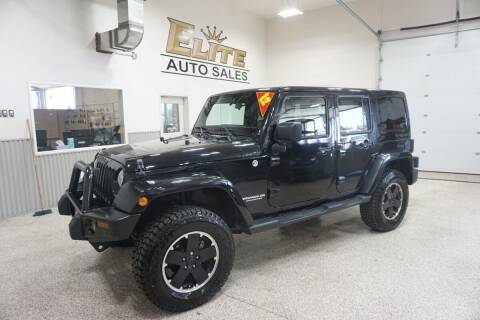 2012 Jeep Wrangler Unlimited for sale at Elite Auto Sales in Ammon ID