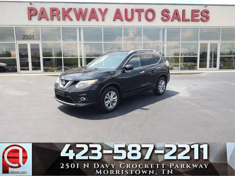 2014 Nissan Rogue for sale at Parkway Auto Sales, Inc. in Morristown TN