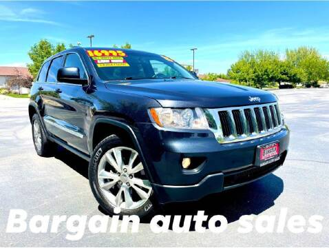 2013 Jeep Grand Cherokee for sale at Bargain Auto Sales LLC in Garden City ID