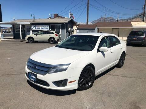 2012 Ford Fusion for sale at Orem Auto Outlet in Orem UT