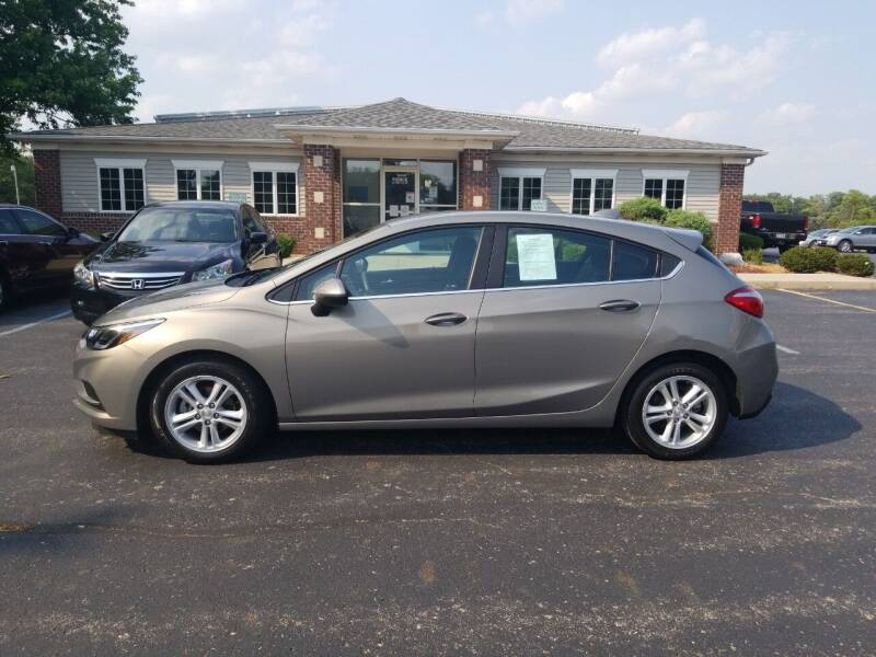 2017 Chevrolet Cruze for sale at Pierce Automotive, Inc. in Antwerp OH