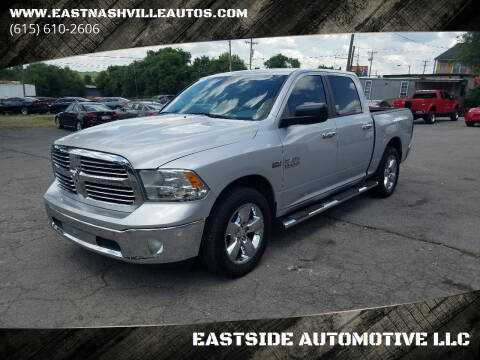 2014 RAM Ram Pickup 1500 for sale at EASTSIDE AUTOMOTIVE LLC in Nashville TN