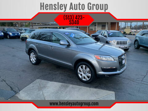 2007 Audi Q7 for sale at Hensley Auto Group in Middletown OH