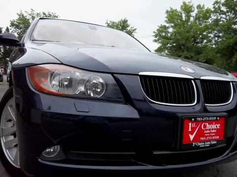 2006 BMW 3 Series for sale at 1st Choice Auto Sales in Fairfax VA