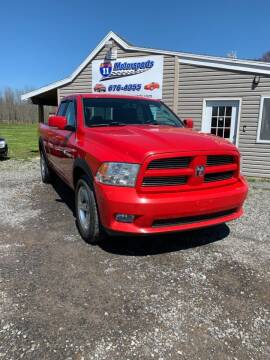 2011 RAM Ram Pickup 1500 for sale at ROUTE 11 MOTOR SPORTS in Central Square NY