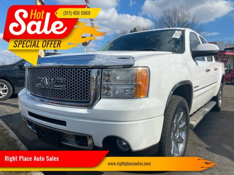 2010 GMC Sierra 1500 for sale at Right Place Auto Sales in Indianapolis IN