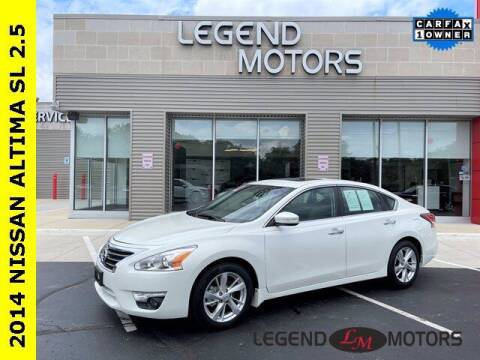 2014 Nissan Altima for sale at Legend Motors of Waterford in Waterford MI