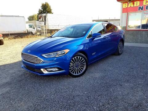 2017 Ford Fusion Energi for sale at Yaktown Motors in Union Gap WA
