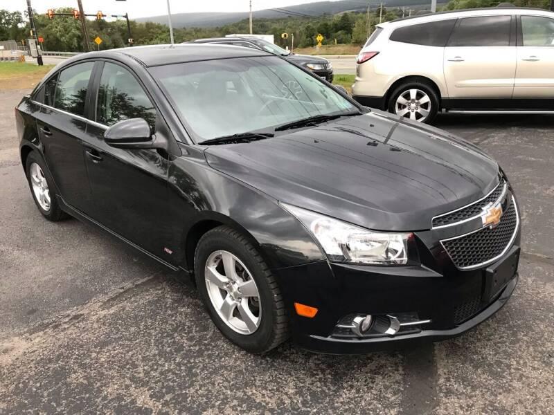 2014 Chevrolet Cruze for sale at Rinaldi Auto Sales Inc in Taylor PA