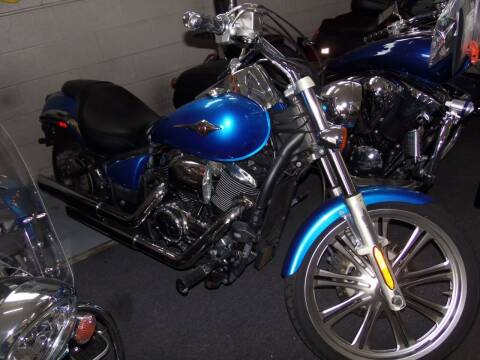 2010 Kawasaki VULCAN CUSTOM 900 for sale at Fulmer Auto Cycle Sales - Fulmer Auto Sales in Easton PA