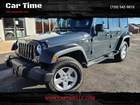 2016 Jeep Wrangler Unlimited for sale at Car Time in Denver CO