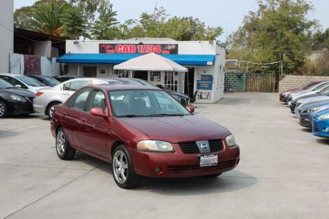 2006 Nissan Sentra for sale at Car 1234 inc in El Cajon CA